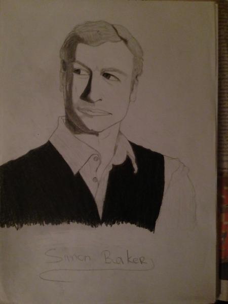 Simon Baker by pathess92